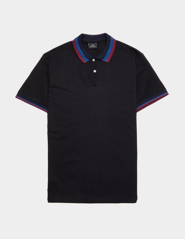 PS Paul Smith Pima Tipped Short Sleeve Polo Shirt
