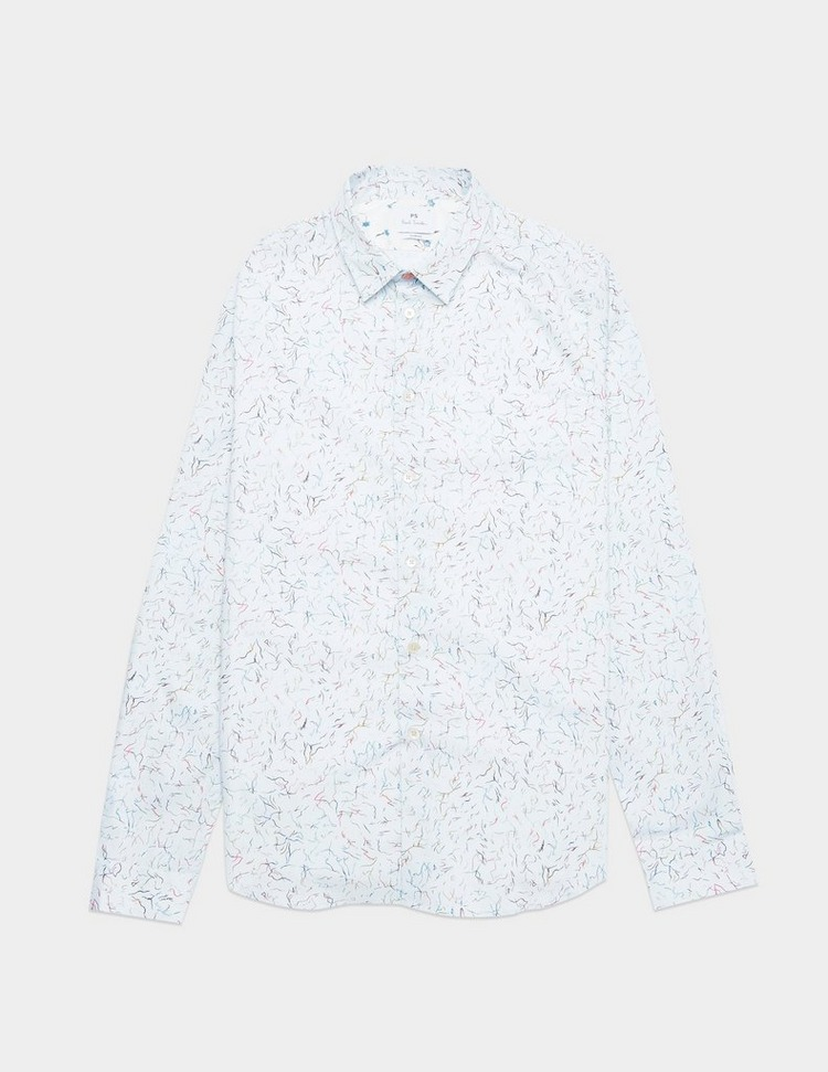 PS Paul Smith Multi Squiggle Long Sleeve Shirt