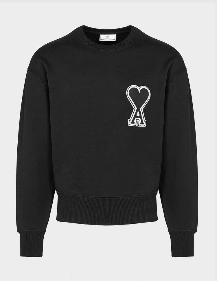 AMI Paris Large Heart Logo Sweatshirt
