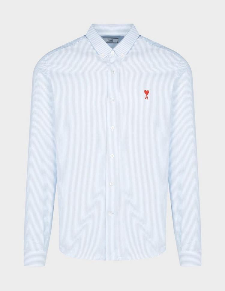 AMI Paris Stripe Long Sleeve Shirt