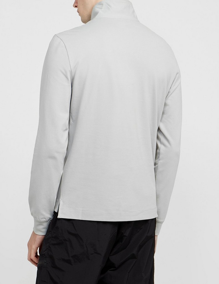 CP Company Zip Funnel Neck Long Sleeve Polo Shirt