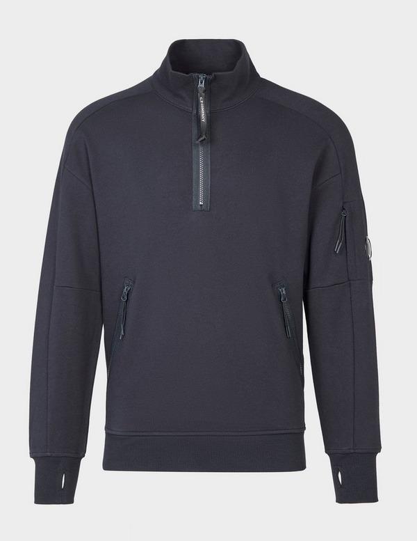 CP Company Lens Quarter Zip Sweatshirt