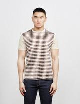 Aquascutum Greg Club Check Short Sleeve T-Shirt