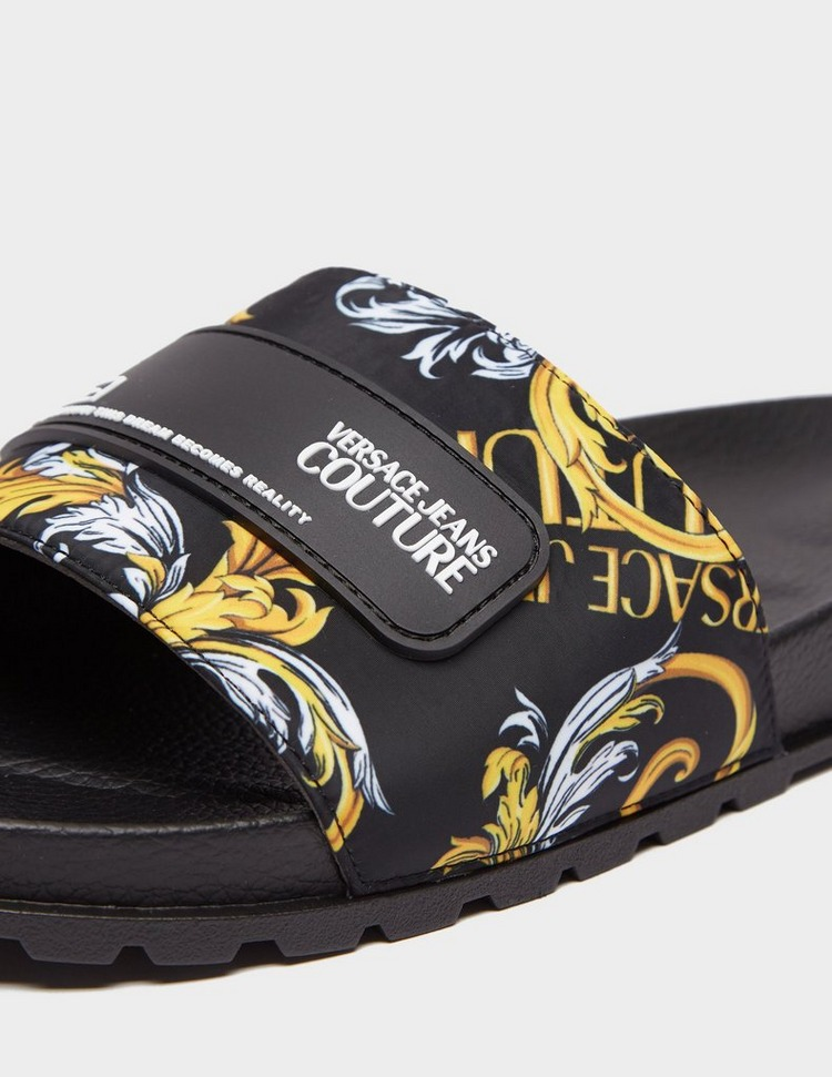 Versace Jeans Couture Baroque Slides