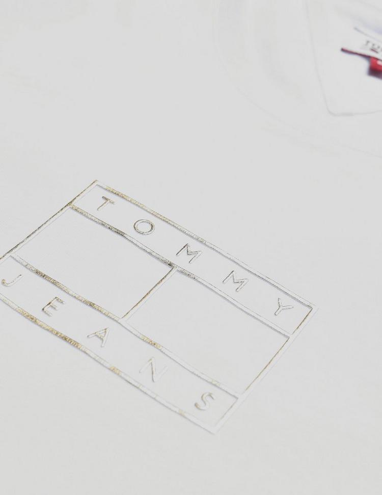 Tommy Jeans Metallic Box Flag Short Sleeve T-Shirt