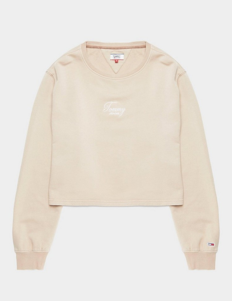 Tommy Jeans Washed Logo Sweatshirt