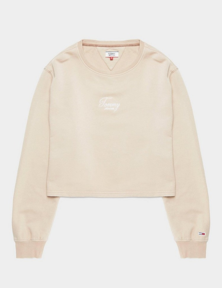 Tommy Jeans Washed Logo Sweatshirt
