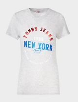 Tommy Jeans Circle New York Logo T-Shirt