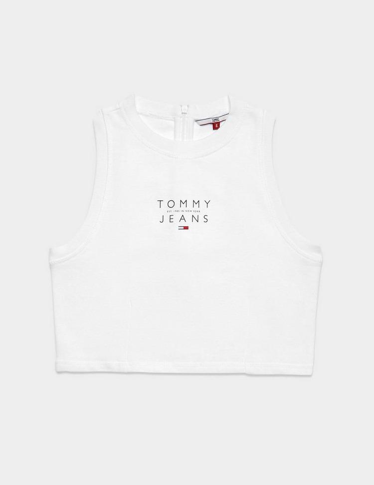 Tommy Jeans Logo Crop Tank Top