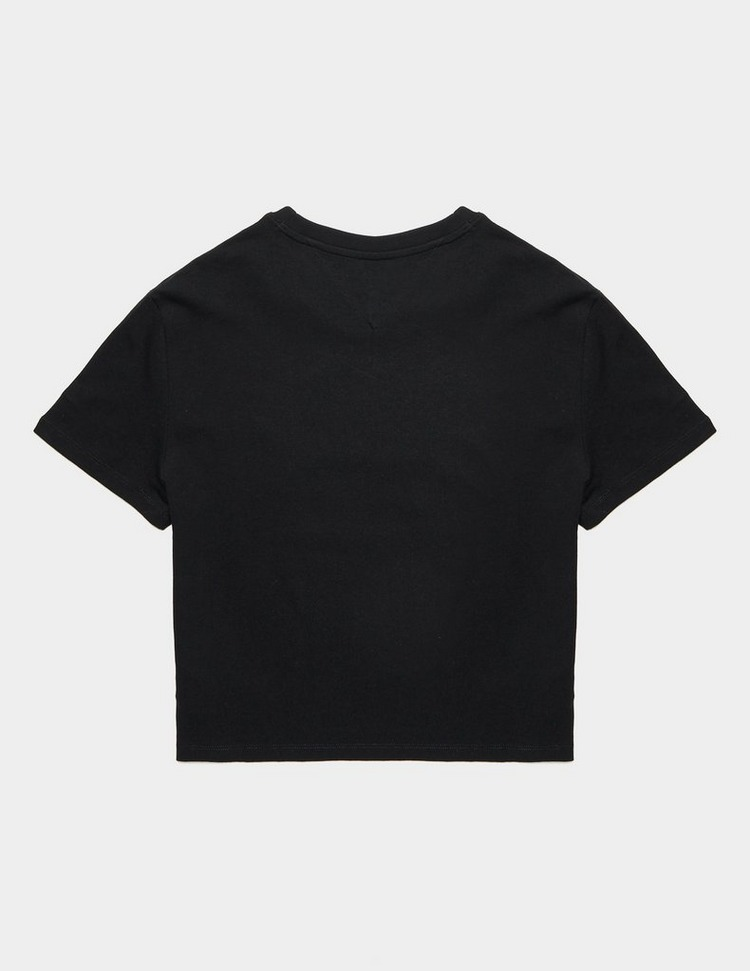 Tommy Jeans Floral Logo Short Sleeve T-Shirt