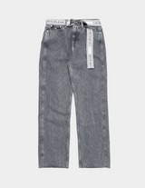 Calvin Klein Jeans High Rise Straight Denim Jeans