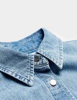 Calvin Klein Jeans Belted Denim Shirt Dress