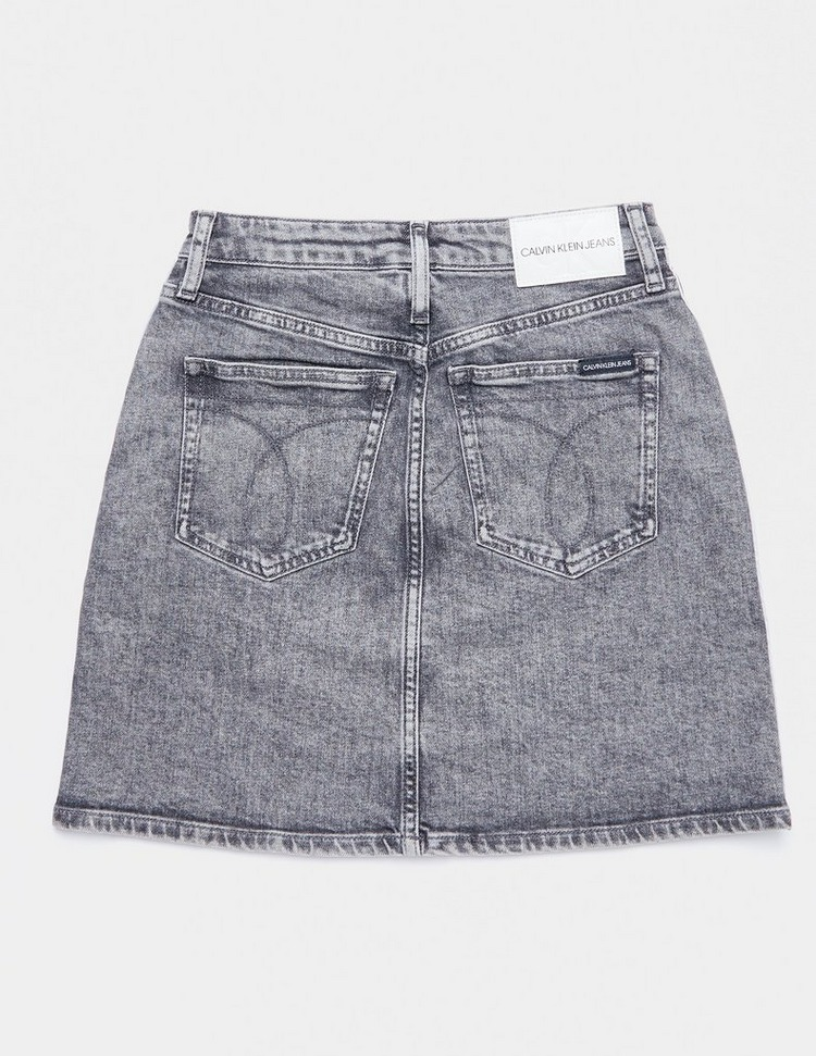 Calvin Klein Jeans Tape Denim Skirt