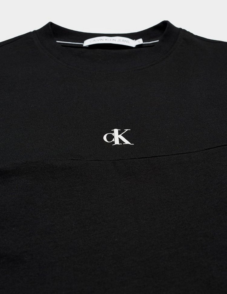 Calvin Klein Jeans Print Crop Short Sleeve T-Shirt