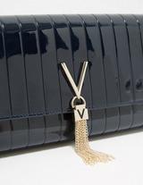 Valentino by Mario Valentino Bongo Patent Long Shoulder Bag