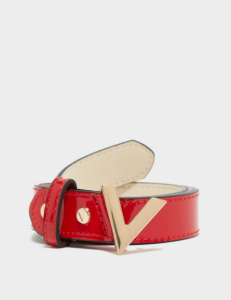 Valentino Bags Forever Patent Belt