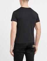 Versace Jeans Couture Felt Text Tonal T-Shirt