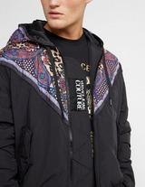 Versace Jeans Couture Leopard Paisley Panel Jacket