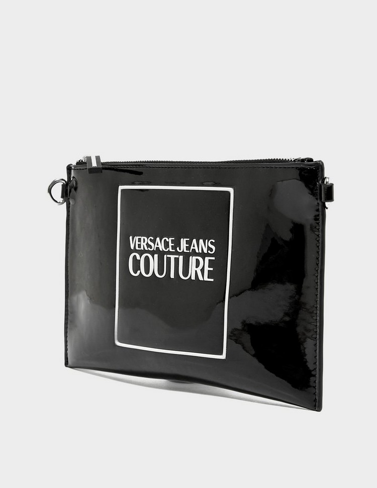 Versace Jeans Couture Patent Clutch