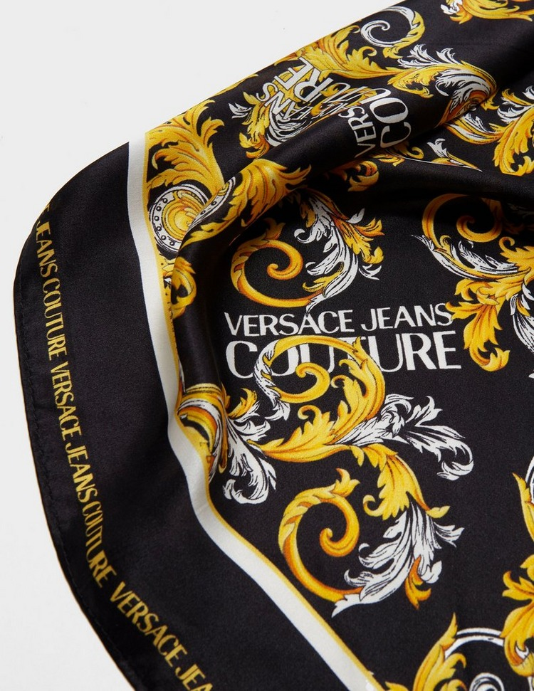 Versace Jeans Couture Baroque Print Scarf