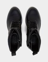 Versace Jeans Couture Lace Up Biker Boots