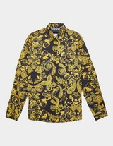 Versace Jeans Couture Baroque Print Long Sleeve Shirt