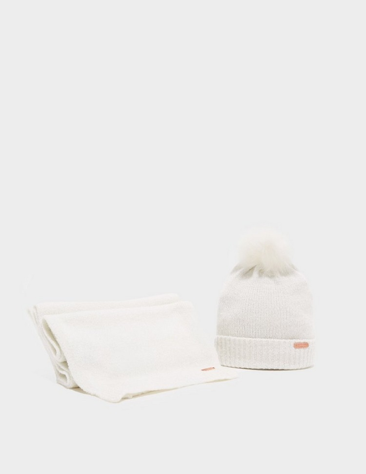 Barbour International Sparkle Beanie & Scarf Gift Set