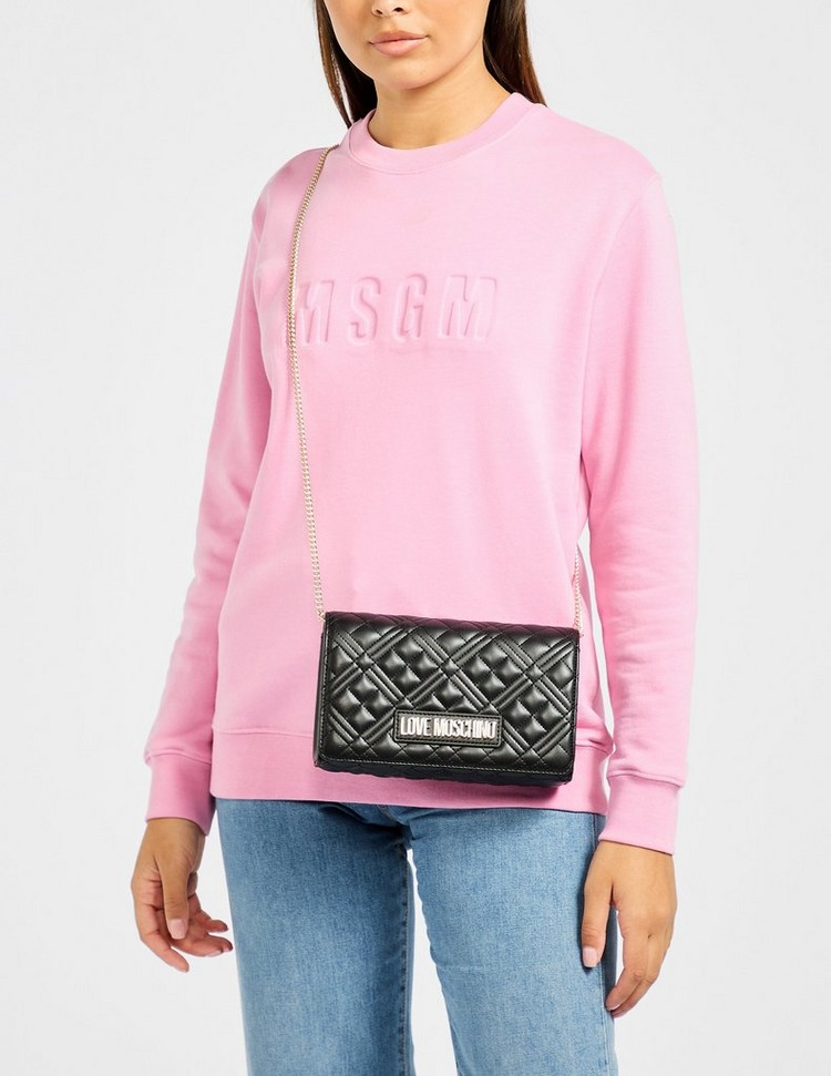 Love Moschino Quilted Box Shoulder Bag
