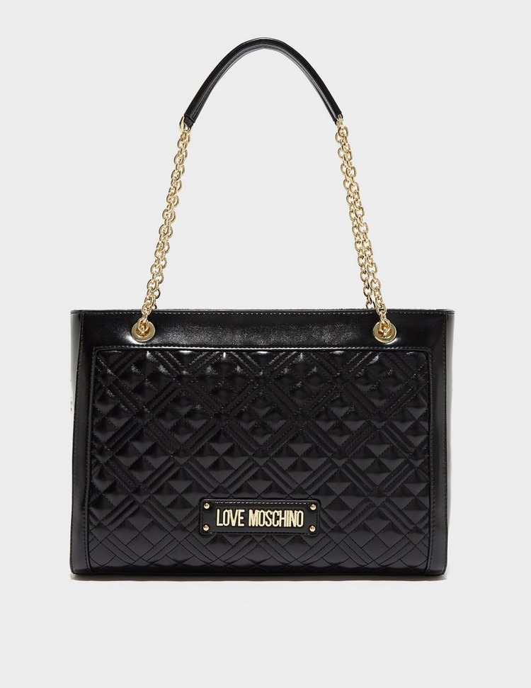 Love Moschino Quilted Chain Shopper Bag