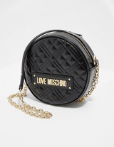 Love Moschino Quilted Circle Shoulder Bag