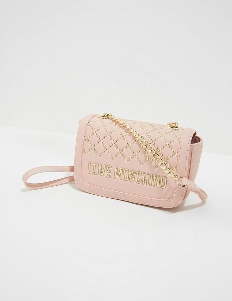 Love Moschino Diamond Stud Shoulder Bag