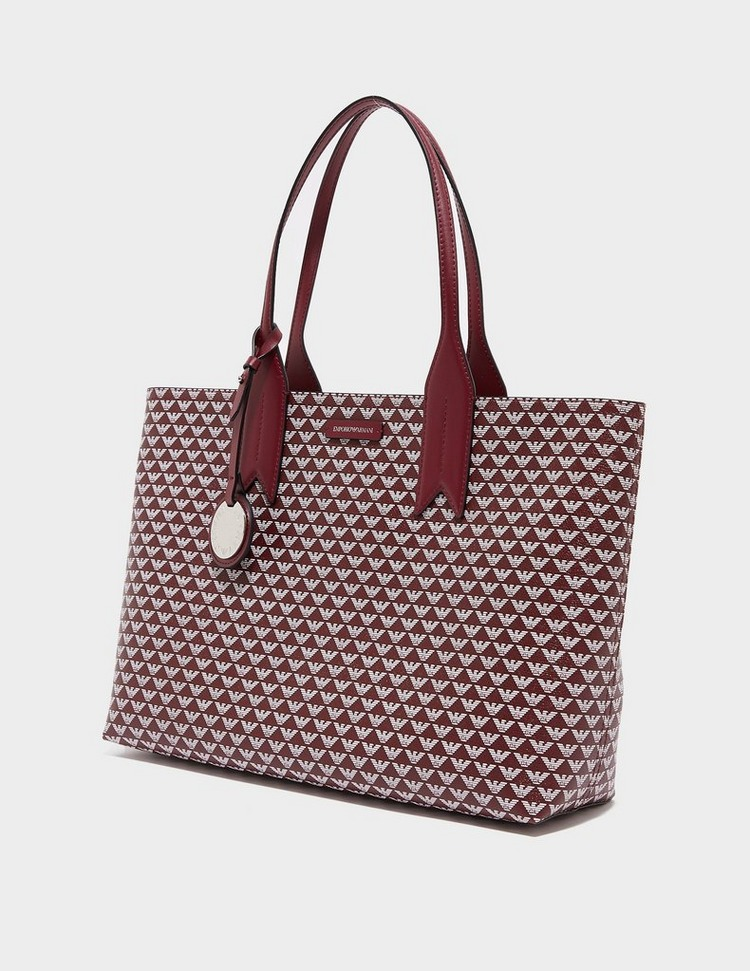 Emporio Armani Eagle Print Tote Bag