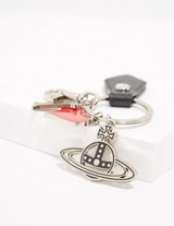 Vivienne Westwood I Love VW Key Chain