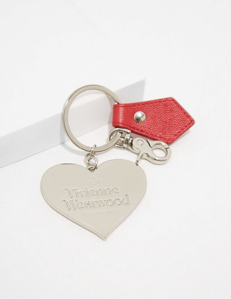 Vivienne Westwood Mirror Heart Key Chain