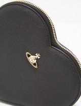 Vivienne Westwood Victoria Heart Clutch Bag