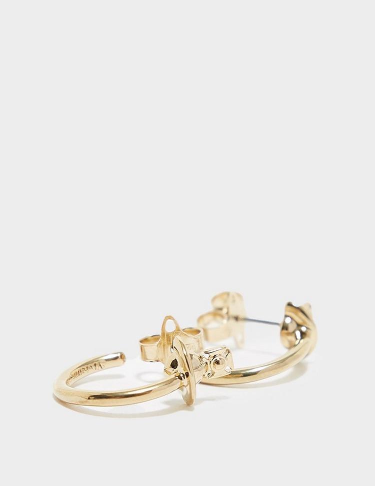 Vivienne Westwood Vera Hoop Earrings