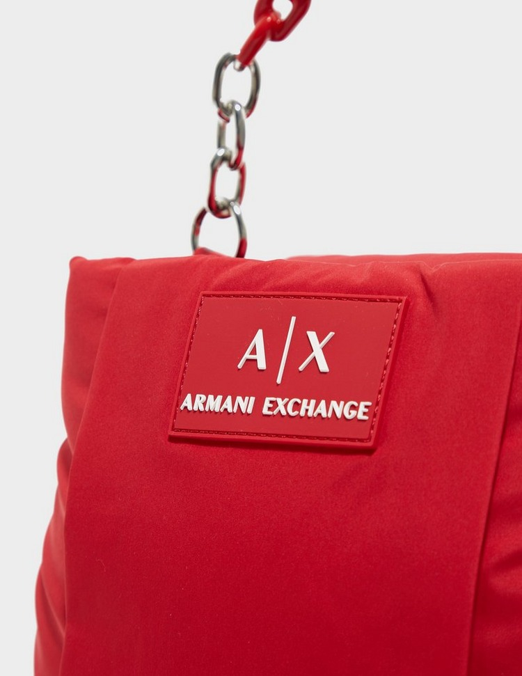 Armani Exchange Nylon Small Chain Bag