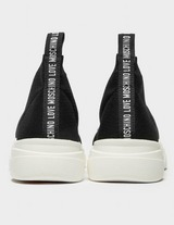 Love Moschino Lace Sock Trainers