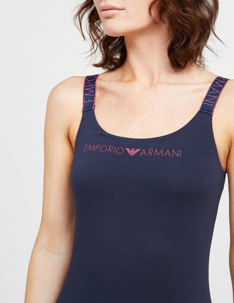 Emporio Armani Loungewear Icon Logo Band Tank Top