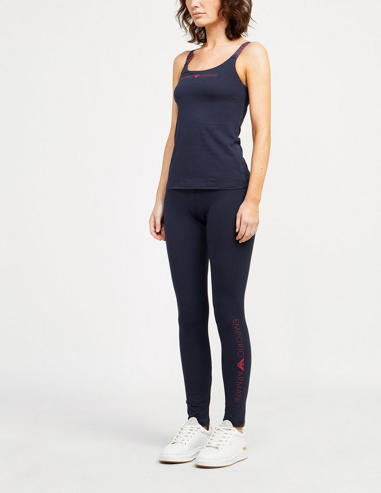 Emporio Armani Loungewear Icon Logo Band Leggings