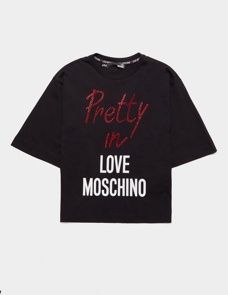 Love Moschino Pretty In Short Sleeve T-Shirt