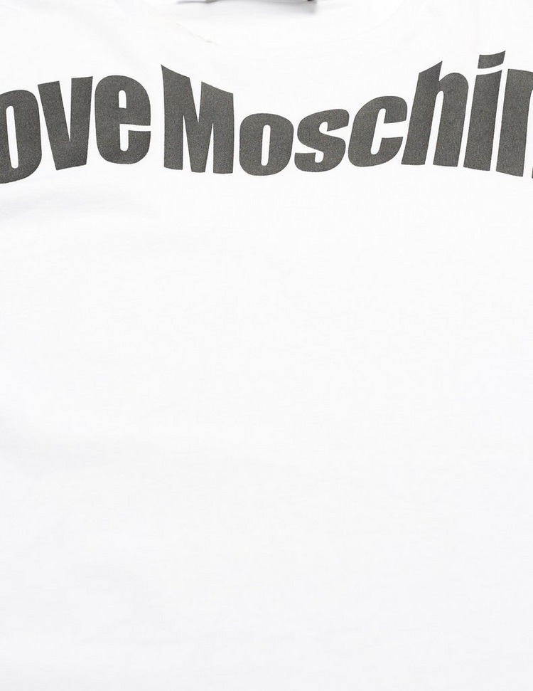 Love Moschino Flex Logo Short Sleeve T-Shirt