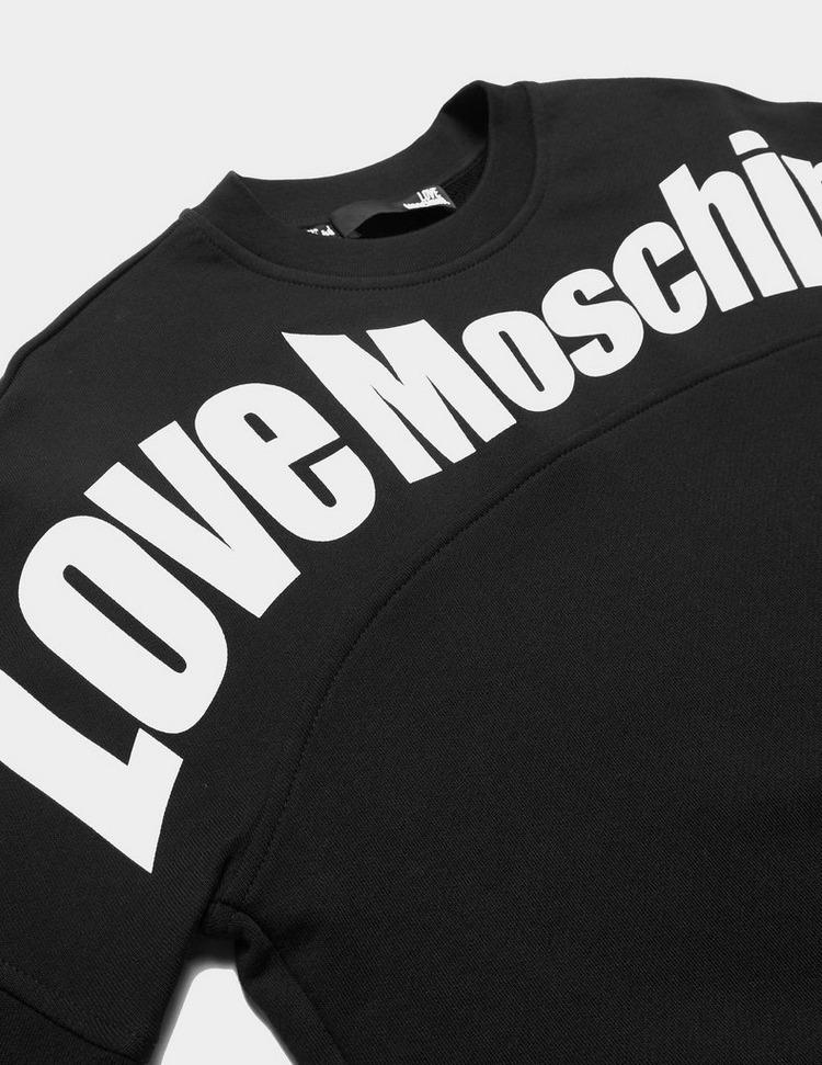 Love Moschino Flex Crew Sweatshirt