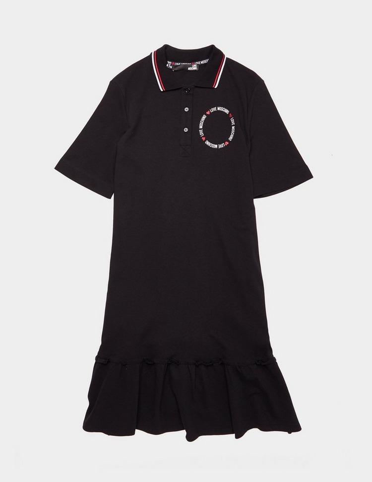Love Moschino Polo Circle Dress
