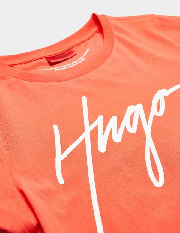 HUGO Signature Logo Short Sleeve Slim T-Shirt