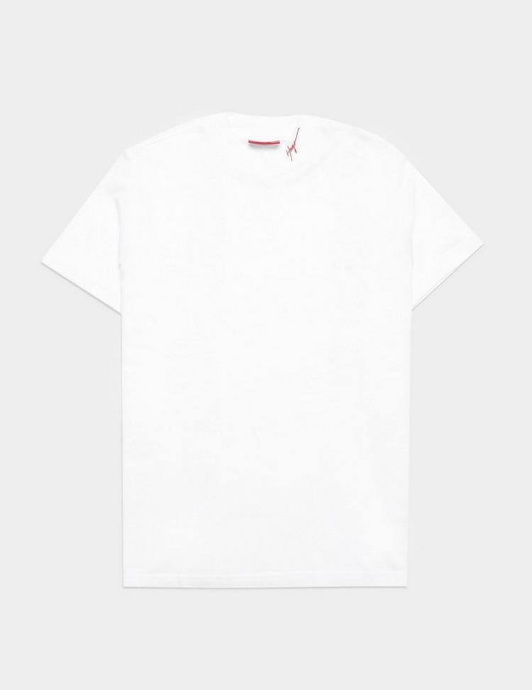 HUGO Denle Neck Logo Short Sleeve T-Shirt