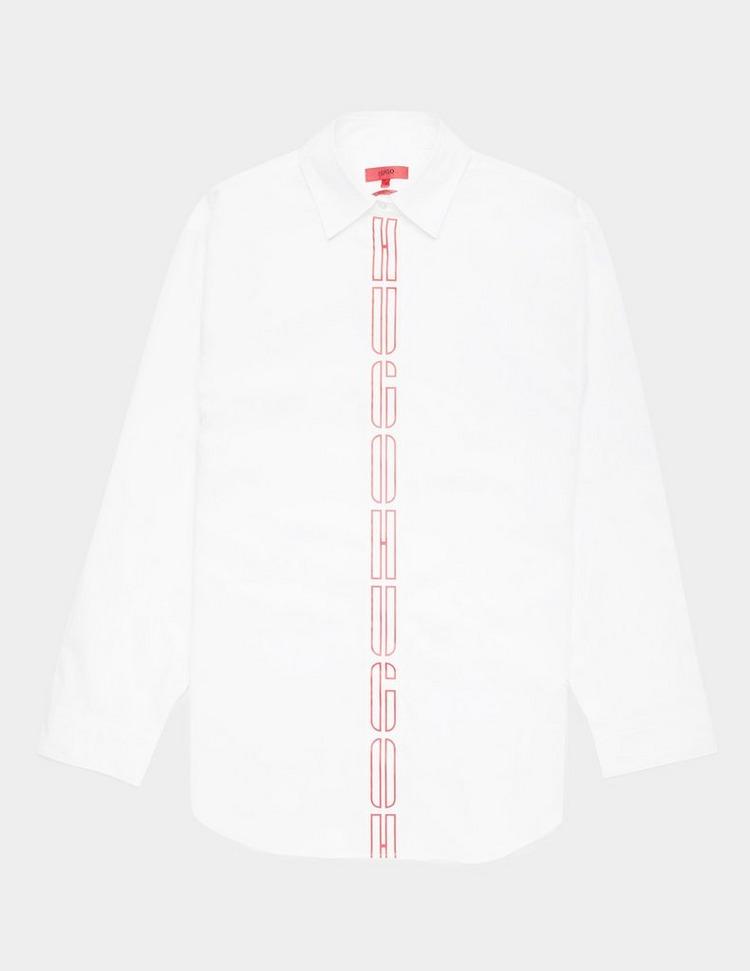 HUGO Efea Logo Long Sleeve Shirt