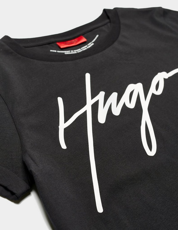 HUGO Signature Logo Short Sleeve Slim T-Shirt