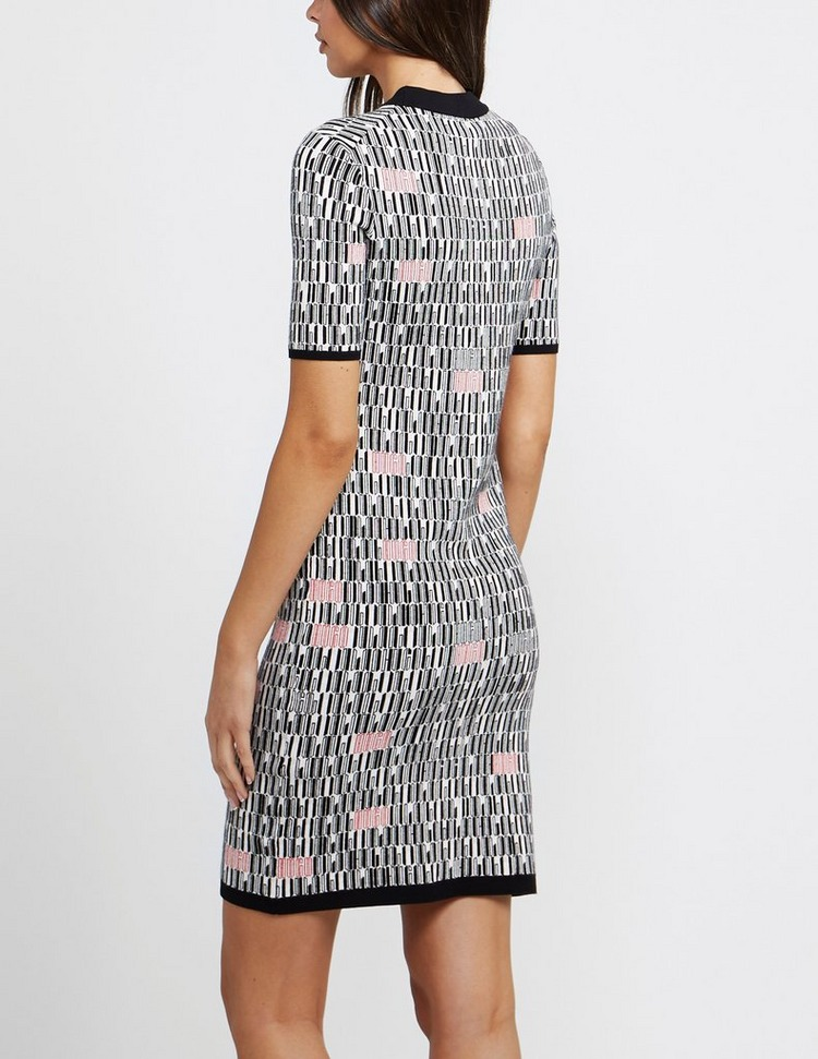 HUGO Logo Knit Dress