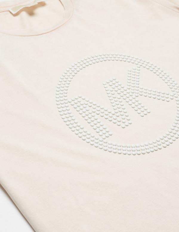 Michael Kors Washed Stud Short Sleeve T-Shirt